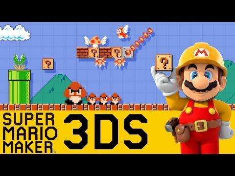 MARIO MAKER 3DS #1 - GAMEPLAY DO INÍCIO