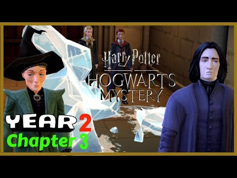 Harry Potter Hogwarts Mystery Gameplay Walkthrough Year 2 Chapter 3 |  The Black Quill