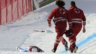 Сбили лыжника, Украина, Буковель, Горные...