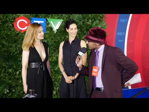 The Disappearance Interview With Camille Sullivan & Joanne Kelly At CTV Upfront 2017