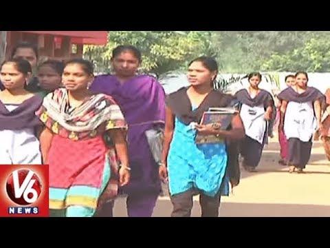 Telangana Govt Releases Notification For Recruitment In Govt Degree Colleges   V6 News
