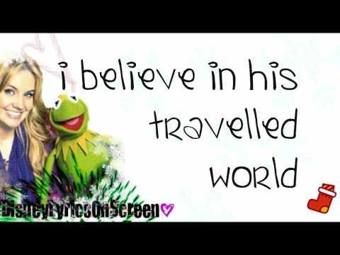 Tiffany Thornton & Kermit The Frog - I Believe - Full (Lyrics On Screen) - HD