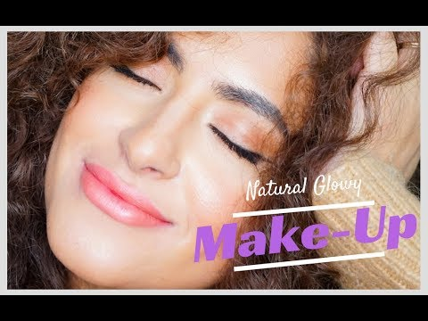 Natural Glowy Make-up Look | Sarah Angius