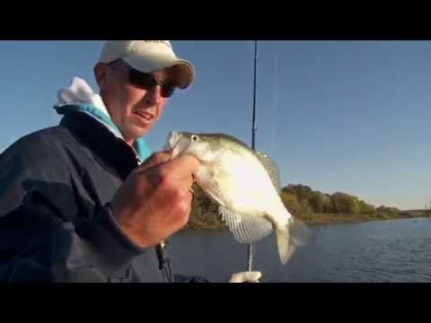 Catching Fall Crappie on Truman Lake