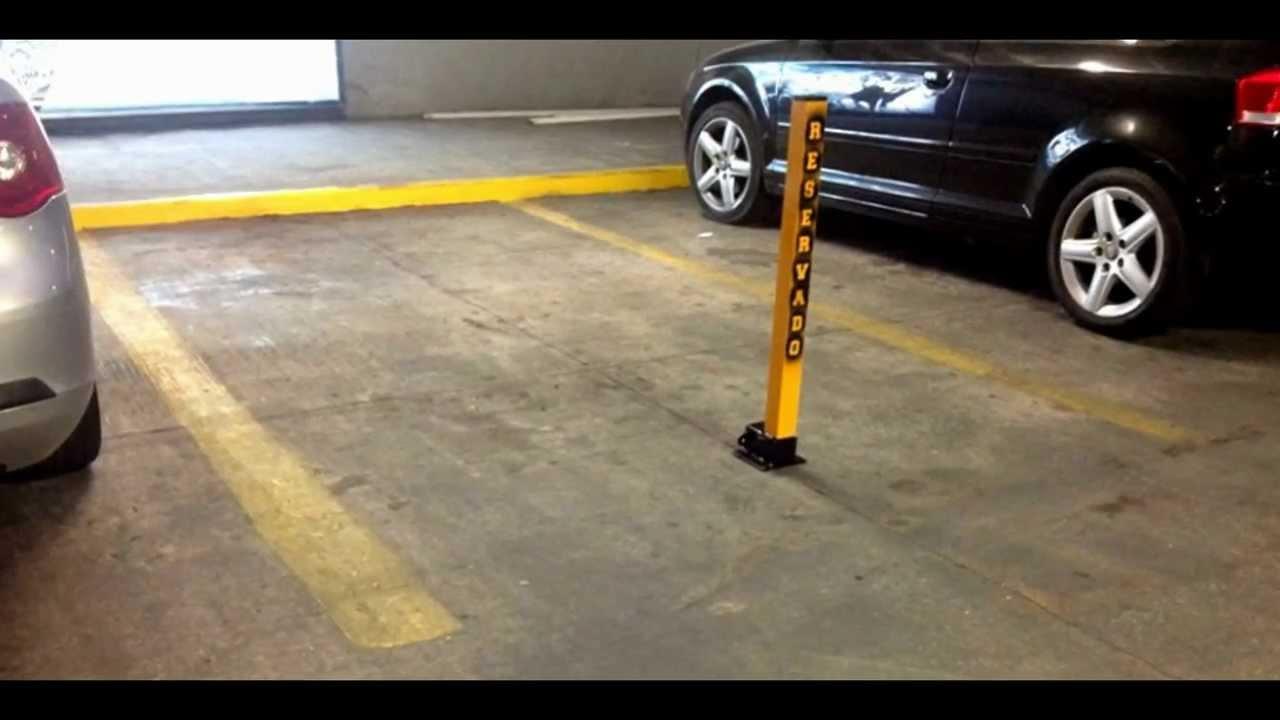 No estacionarse barrera estacionamiento reservado youtube - Se puede pintar el piso ...