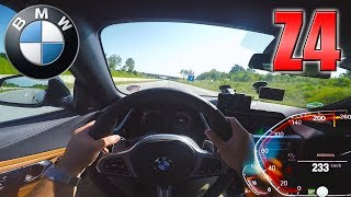 Beautiful 2019 BMW Z4   Pushing on German Autobahn✔