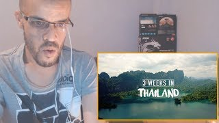 THAILAND - 3 Weeks Backpacking Trip 2017 ||REACTION|| جزائري