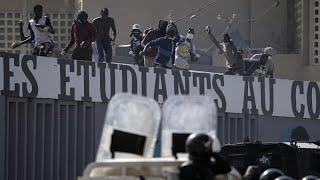 Sénégal : scènes de violences à l'université de Dakar