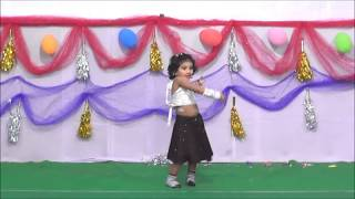 Aadhya first stage dance show