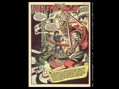 Jack Cole - A 1953 Plastic Man Splash Page analyzed by Paul Tumey