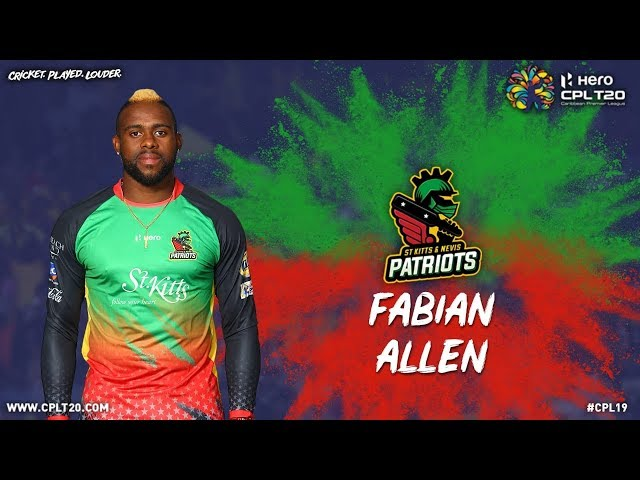 FABIAN ALLEN | PLAYER FEATURE | #CPL19