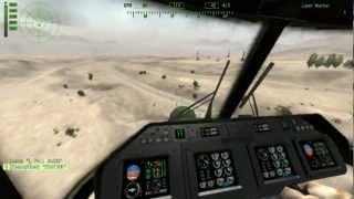 Arma 2 Operation Arrowhead - Multiplayer Helicopter Crash