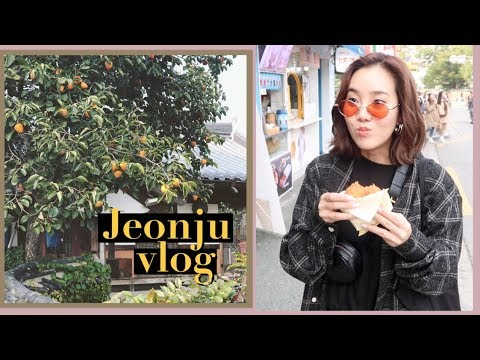 JEONJU MUKBANG VLOG: A day away from Seoul city!