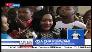 Ziara ya Mike Sonko katika hospitali ya Pumwani inaendelea kufichua mapungufu katika kituo hicho
