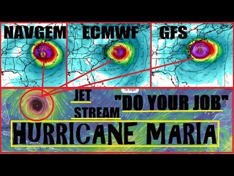Hurricane MARIA Sets its EYES on 'EAST COAST' 9/21 UPDATE