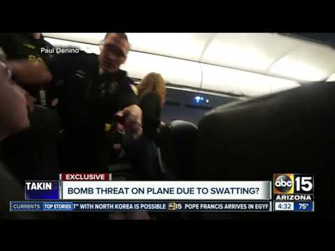 Internet personality says he was target of prank threat at Sky Harbor