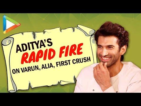 "Aditya Roy Kapur: ""A RUMOUR I'd Like To Start About Varun Dhawan is…""| Rapid Fire | KALANK"