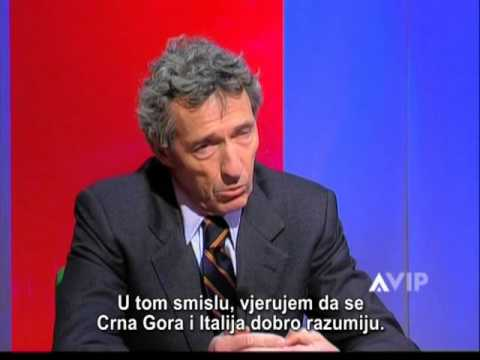 Ambassador Stefano Stefanini, Atlas TV Montenegro