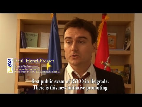 Regional Youth Cooperation Office, Paul-Henri Presset, EU Delegation to Serbia