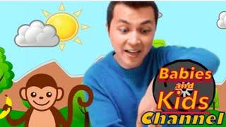 Five Little Monkeys | Babies and Kids Channel - Nursery Rhymes