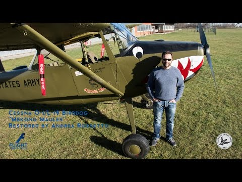 "Cessna O-1/L-19 Birddog  ""Mekong Mauler"" Restored by Andrea Rossetto"
