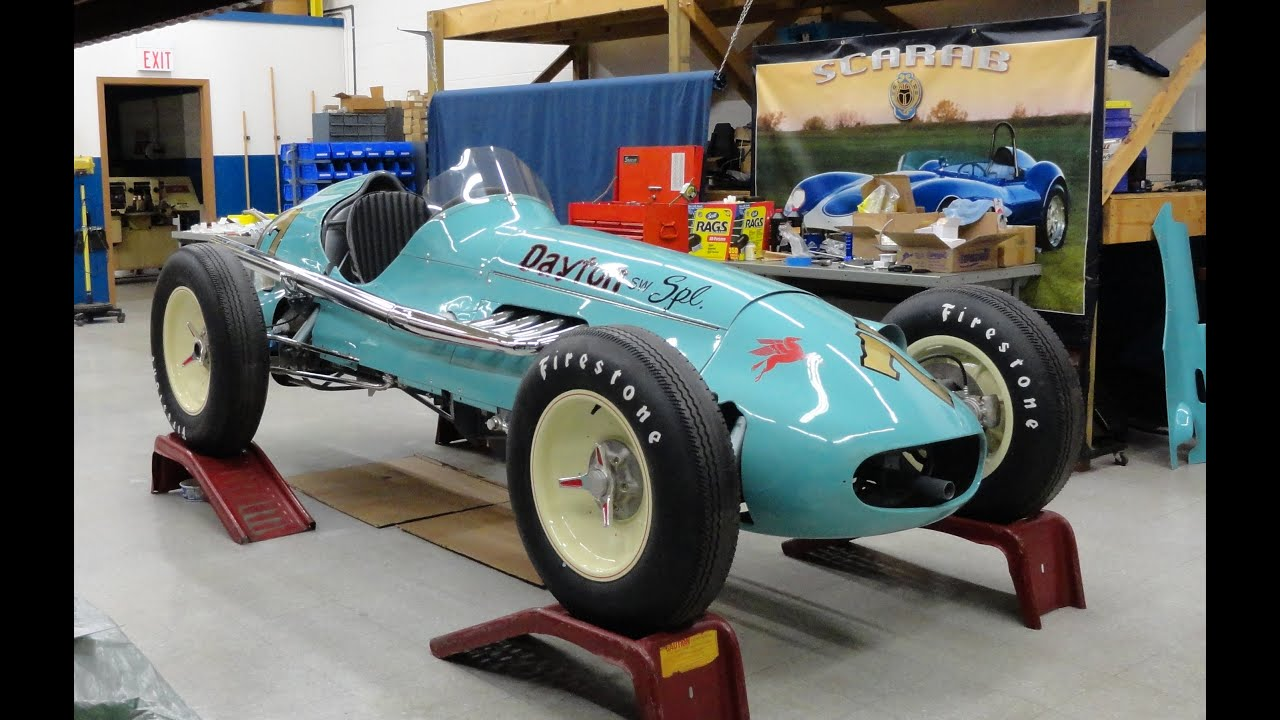 1951 Indianapolis Indy Racer Race Car Dayton Steel Wheel Special on ...
