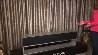 LG Signature OLED TV R Demo