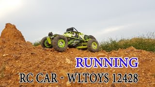 Unboxing - Running WLtoys 12428 1/12 4WD Crawler RC car 50km/h