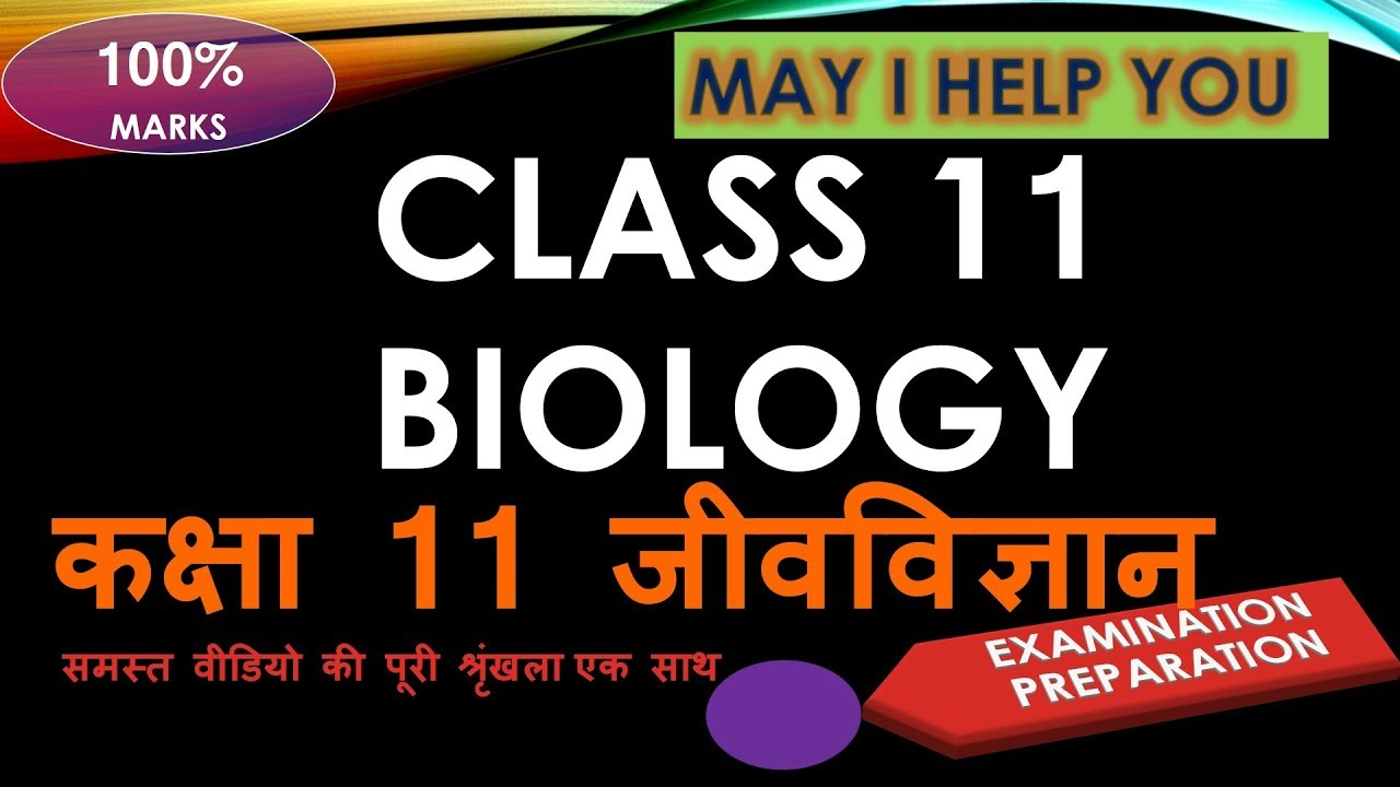 ✅ Class 11 Biology कक्षा 11 जीवविज्ञान ✅ all chapter in detail