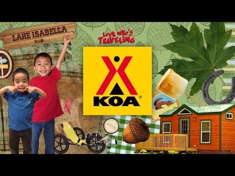 KOA Kampgrounds Of America (Lake Isabella / Kern River) KOA Weldon: Look Who's Traveling