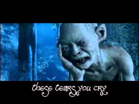 Gollum's Song, with lyrics.