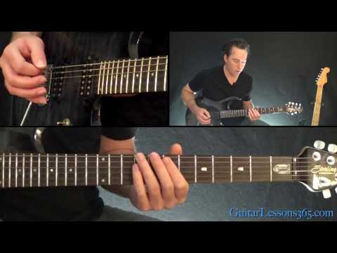 Ghost - Square Hammer Guitar Lesson (Rhythms)