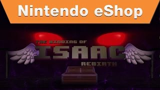 Nintendo eShop - The Binding of Isaac: Rebirth Nindies@Night PAX Trailer