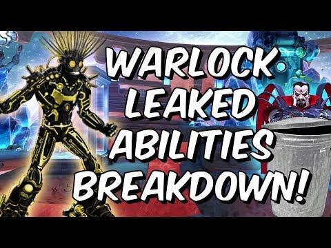 Warlock LEAKED Abilities Breakdown! - Mister Sinister & Havok Counter? - Marvel Contest of Champions
