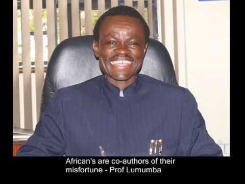 We are co-authors of our misfortune - Prof. Lumumba tells Af