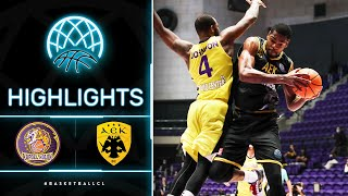 Hapoel Unet-Credit Holon V AEK - Highlights   Basketball Champions League 2020/21