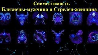 видео Совместимость гороскопов Стрелец и Близнецы