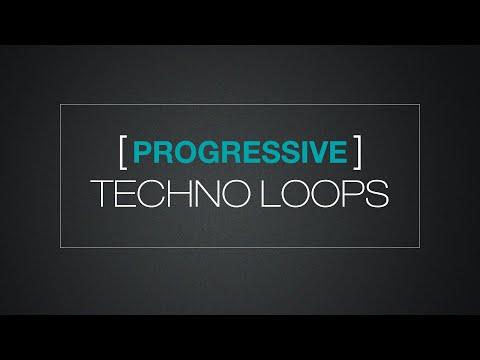 Progressive Techno Loops - Sample Pack