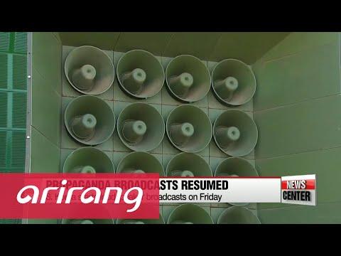 History and impact of South Korea's loudspeaker propaganda broadcasts