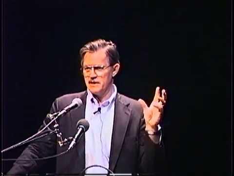 CIA Critic John Stockwell at the Univ. of California, Santa Barabara (1992)