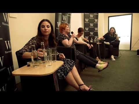 Victoria Aveyard | London Red Queen Tour |Alwyn Hamilton, Laure Eve and Alice Broadway