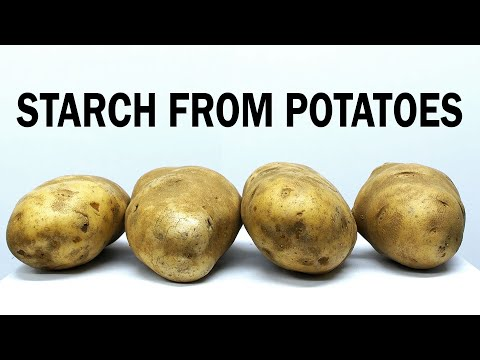 Extracting Starch from Potatoes