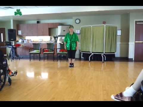 Bobbie clogging to Dance Above The Rainbow