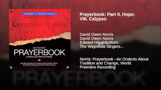 Prayerbook: Part II, Hope: VIII. Calypso