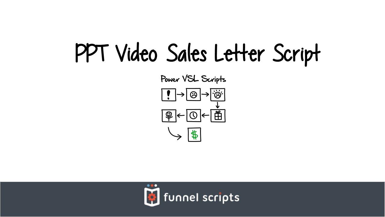 Ppt Video Sales Letter Script Funnelscripts Com Youtube
