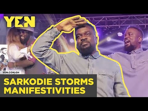 Ghana News Today: Sarkodie Storms Manifestivities| #Yencomgh