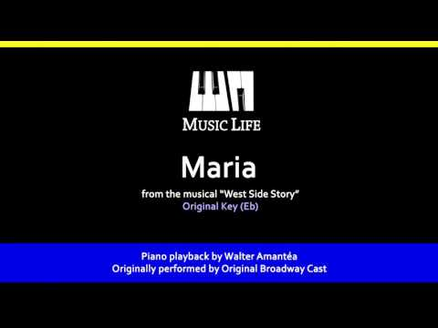 Maria (West Side Story) - Piano Playback for Cover / Karaoke