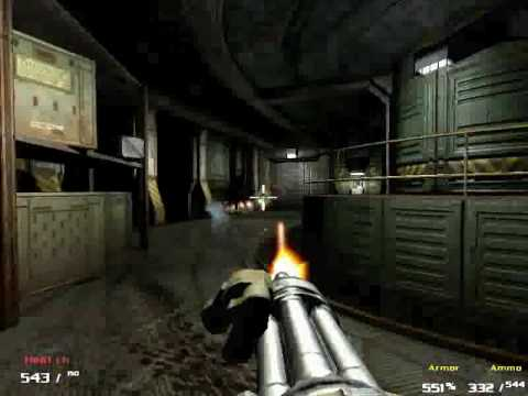 Doom3 Predator Chaingun Napalmmod Trey Youtube