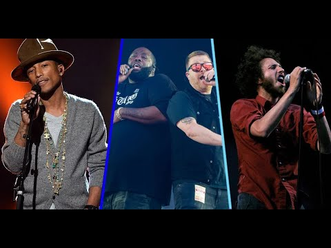 Run The Jewels – JU$T (feat. Pharrell Williams & Zack de la Rocha) (Official Clean Version)