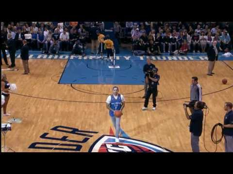 Thunder Fans: Masters of the Half Court Shot